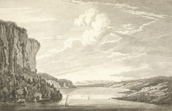 A View in Hudson's River of the Entrance of what is called the Topan Lane